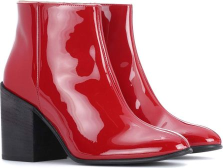 Acne Studios Beth patent leather ankle boots