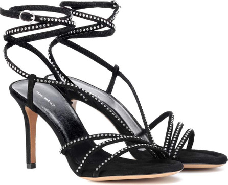 Isabel Marant Ampsee crystal embellished sandals
