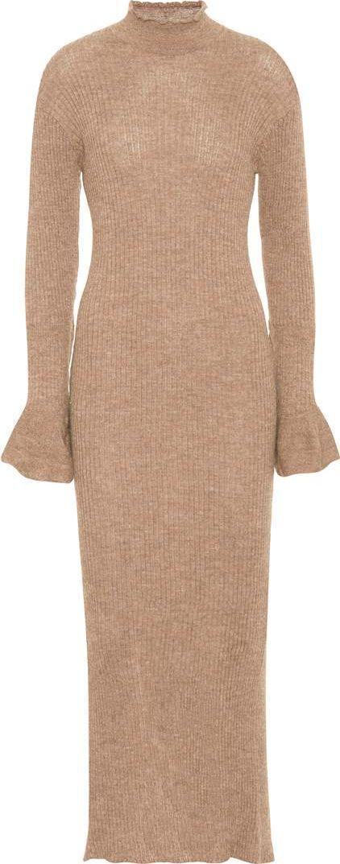 Acne Studios Rita alpaca and wool dress