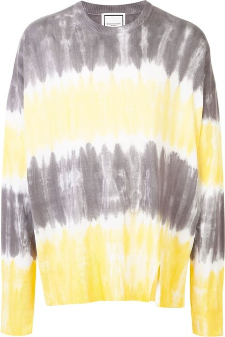 Wooyoungmi Tie-dye relaxed jumper