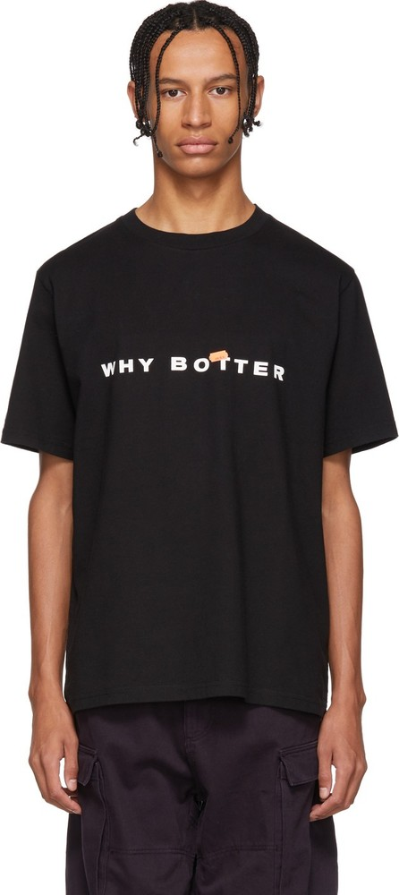 Botter Black 'Why Botter' T-Shirt