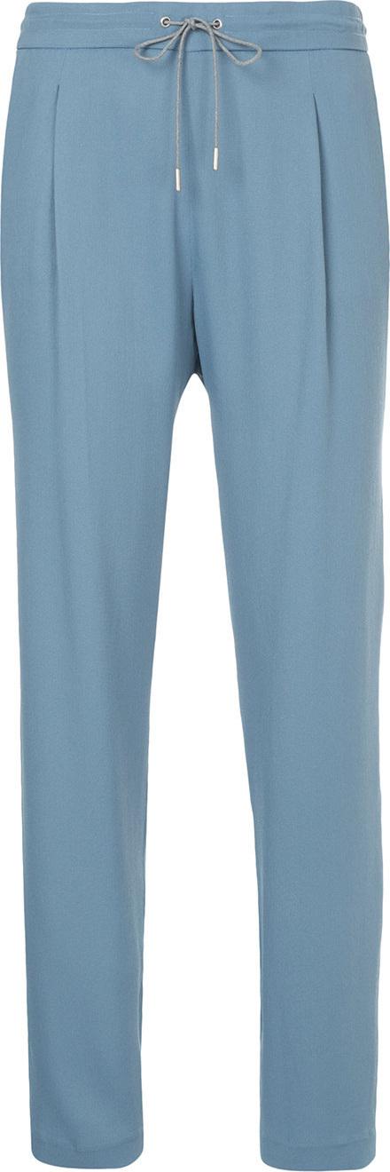 Fabiana Filippi Drawstring waist trousers