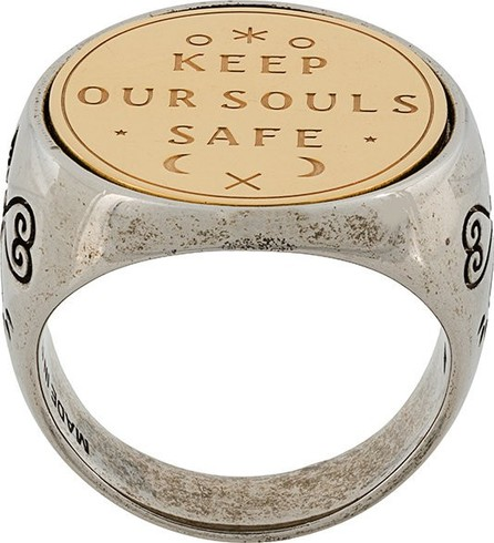 Givenchy keep your souls safe ring