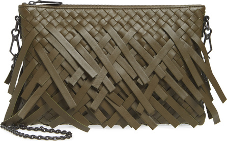 Bottega Veneta Small Intrecciato Leather Crossbody Bag
