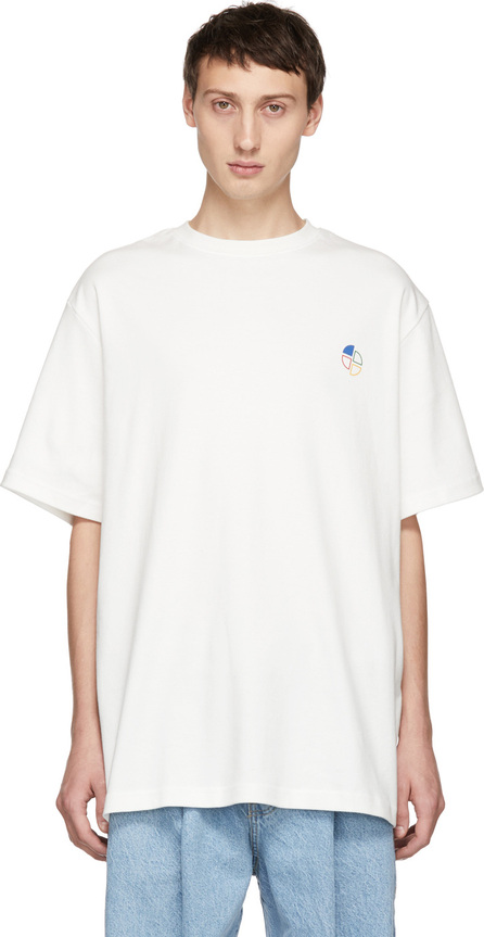 ADER error White Slice Logo T-Shirt