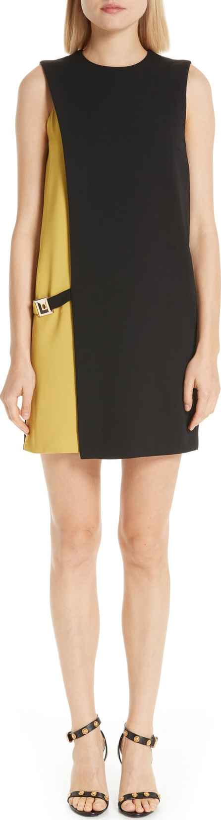 Versace Collection Versace Colorblock Shift Dress