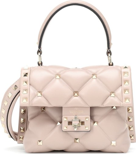 Valentino Valentino Garavani Candystud Mini leather shoulder bag