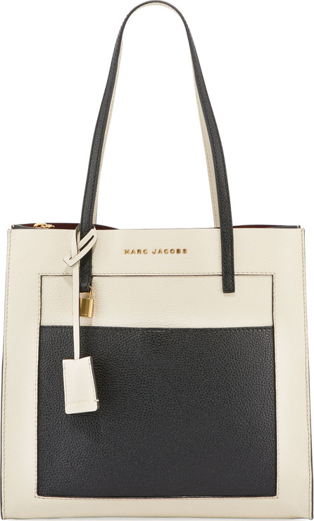 MARC JACOBS The Grind Colorblock Tote Bag