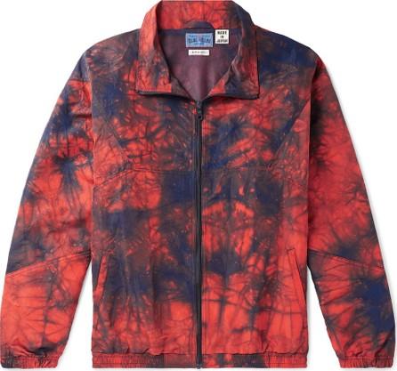 Blue Blue Japan Tie-Dyed Nylon Jacket