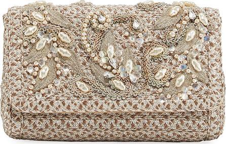 Eric Javits Devina Embellished Small Clutch Bag
