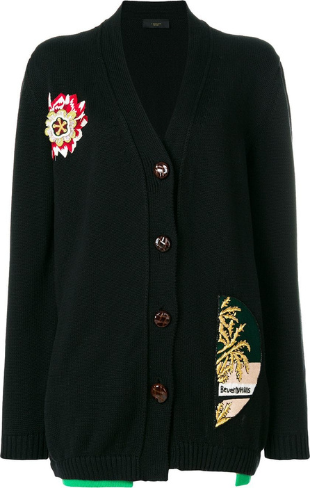 Lédition Embroidered cardigan