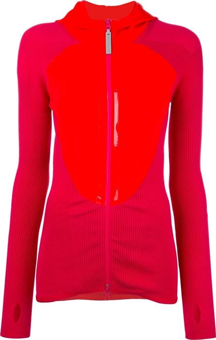 Adidas By Stella McCartney high shine trim zip up hoddie