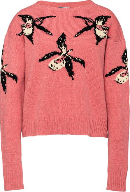 Prada Orchid intarsia sweater