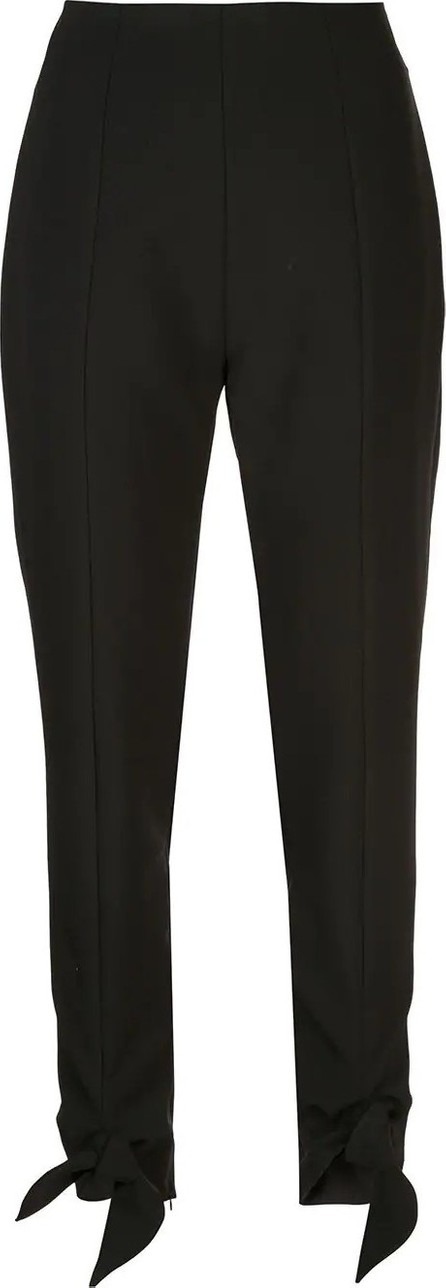 Carmen March knotted cuff trousers