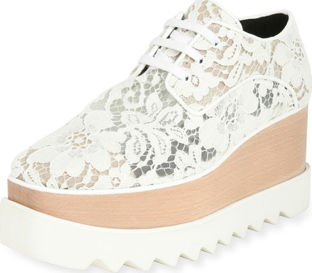 Stella McCartney Elysse Lace Platform Wedge Sneaker