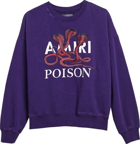 Amiri Poison loose fit sweatshirt