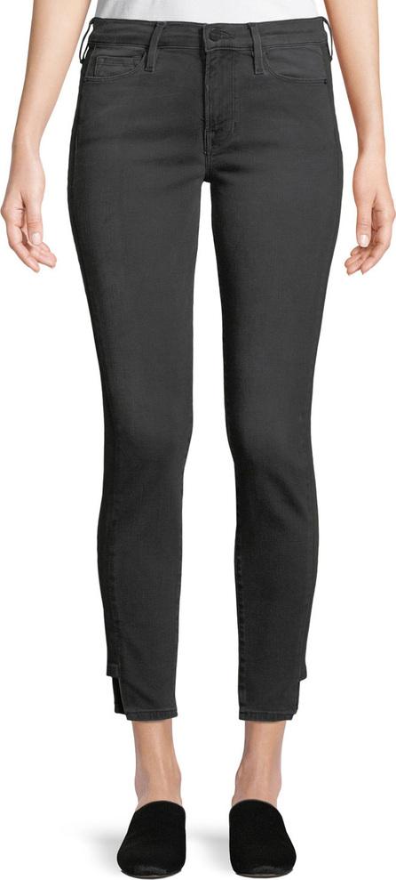 FRAME DENIM Le Skinny Skinny-Leg Ankle Pants w/ Step Hem
