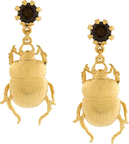 Alex Monroe beetle earrings