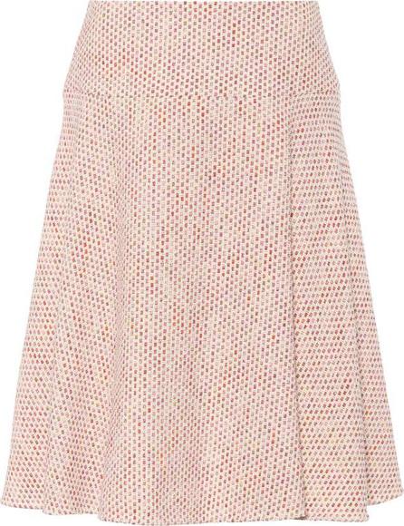 Salvatore Ferragamo Cotton-blend tweed skirt