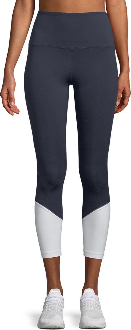Kate Spade New York high-rise colorblock cropped leggings