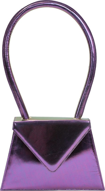 Amélie Pichard Flat metallic purple bag