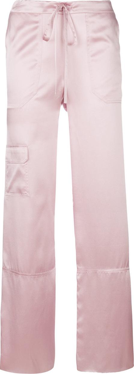 Marques'Almeida High waisted pyjama trousers