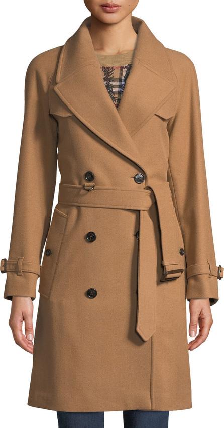 Burberry London England Cranston Wool-Blend Short Trench Coat