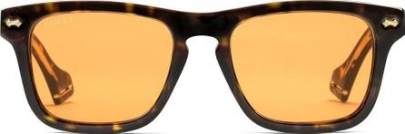 Gucci Rectangular-frame sunglasses
