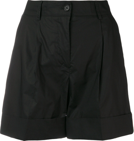 P.A.R.O.S.H. High-waisted side stripe shorts