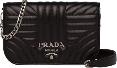 d2b1b4305607 Prada Diagramme Small Quilted Leather Crossbody Bag