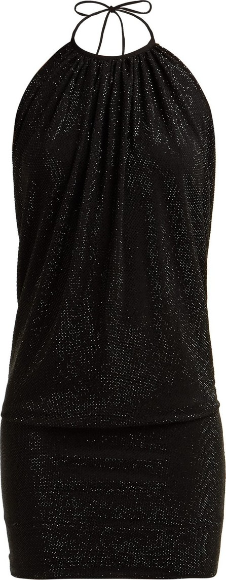 Alexandre Vauthier Halterneck crystal-embellished mini dress