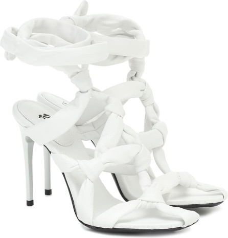 Off White Knot leather sandals