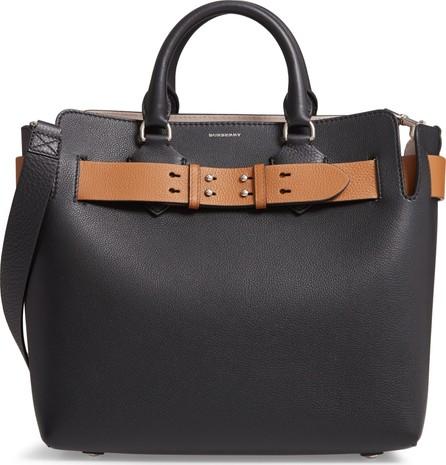 Burberry London England Medium Belt Bag Leather Tote