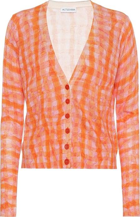Altuzarra Natalia silk and cotton cardigan