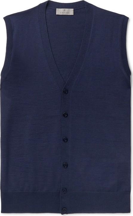 Canali Merino Wool Sweater Vest