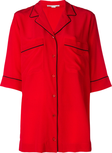 Stella McCartney Piped-trim shirt