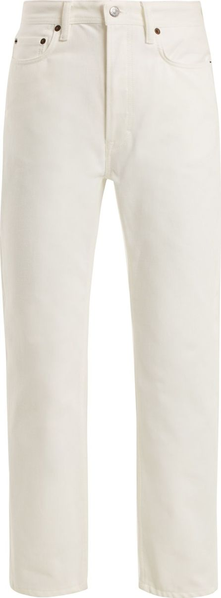 Acne Studios Log straight-leg boyfriend jeans