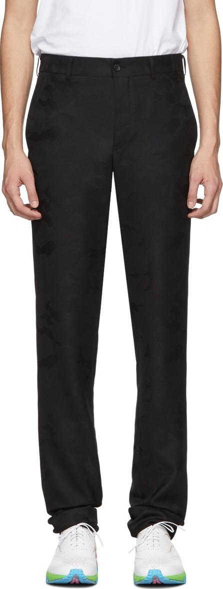 Comme Des Garçons Homme Plus Black Camo Trousers