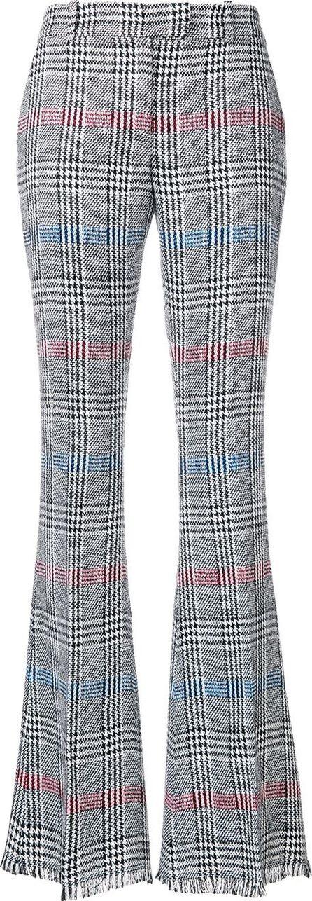 Ermanno Scervino Wide leg checked trousers