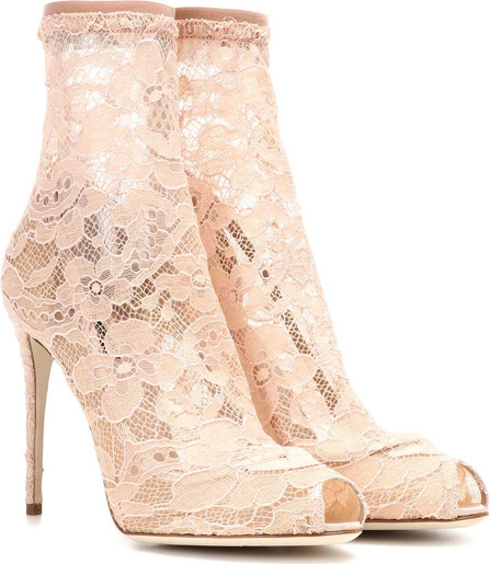 Dolce & Gabbana Lace ankle boots
