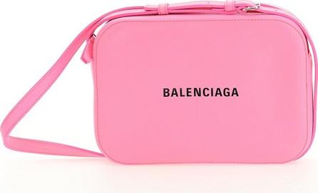 Balenciaga Pink Leather Crossbody Bag