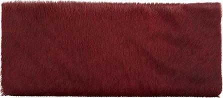 Allison Mitchell Nicole Calf-Hair Evening Clutch Bag