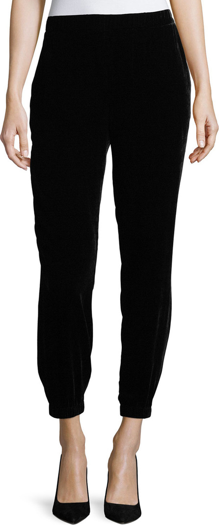 Eileen Fisher Slouchy Velvet Ankle Pants, Plus Size
