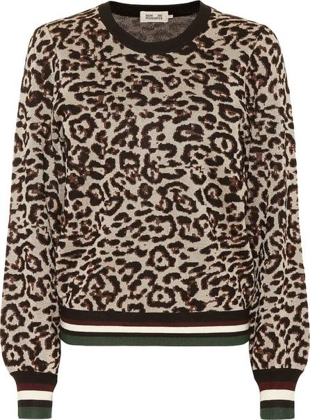 Baum und Pferdgarten Leopard-print sweatshirt