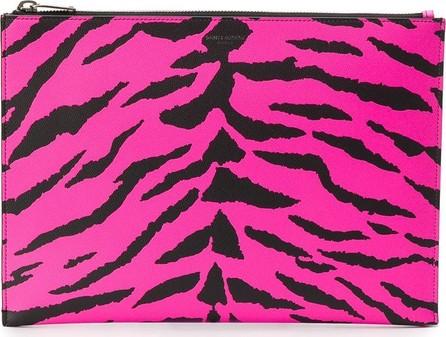 Saint Laurent Zebra print clutch