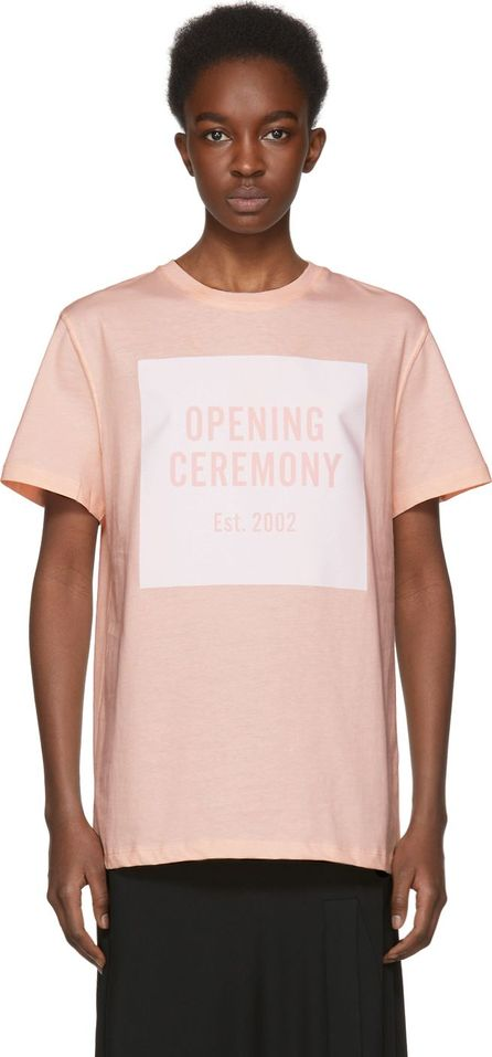 Opening Ceremony Pink Limited Edition Box Logo T-Shirt
