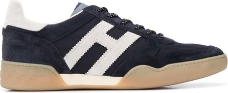 Hogan H357 monogram patch sneakers