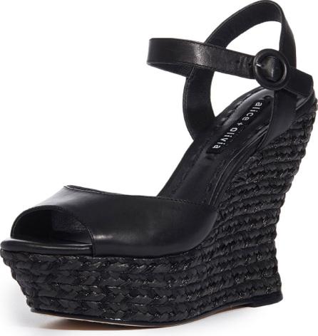 Alice + Olivia Jana Wedge Platform Sandal