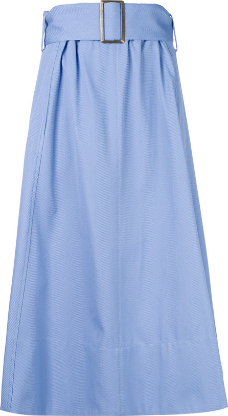 Erika Cavallini Buckle-belt midi skirt