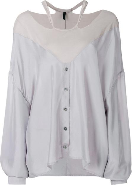 Ben Taverniti Unravel Project Cold shoulder blouse